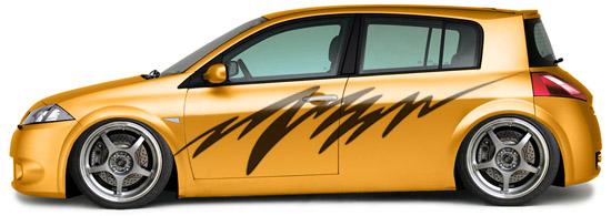 Autoadhesivos para tuning vinilos decorativos for Vinilos para coches