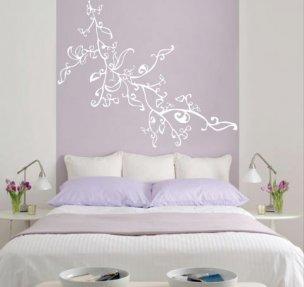 Vinilos para pared de dormitorio dise os arquitect nicos for Vinilo para dormitorio adultos