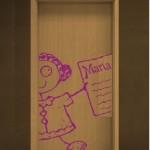Vinilos infantiles para la puerta del dormitorio