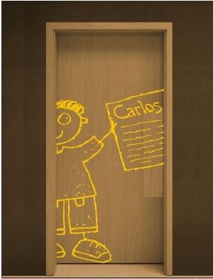 Vinilos decorativos para puertas vinilos decorativos for Vinilos para pared dormitorio juvenil
