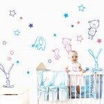 Vinilos Infantiles para la habitación de tu bebé