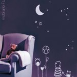 Precioso Vinilo infantil:: Buenas noches