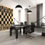 Para los amantes del jaque mate; tableros de ajedrez adhesivos