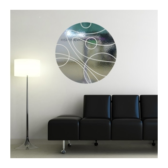 Vinilo decorativo espejo para sala de espera vinilos for Decoracion con espejos para salas