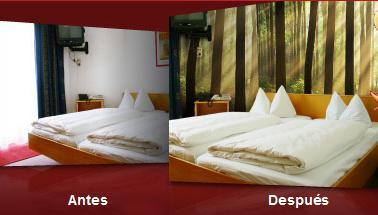 Fotomurales para el dormitorio vinilos decorativos for Vinilos decorativos para habitaciones matrimoniales