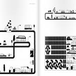 Construye una ciudad de juguete con tu peque en la pared de su habitación