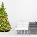 Vinilo adhesivo :: El típico árbol de Navidad