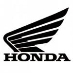 Pegatina moto Honda