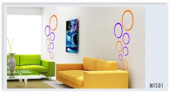 Vinilos decorativos sala vinilos decorativos for Sala vinilo