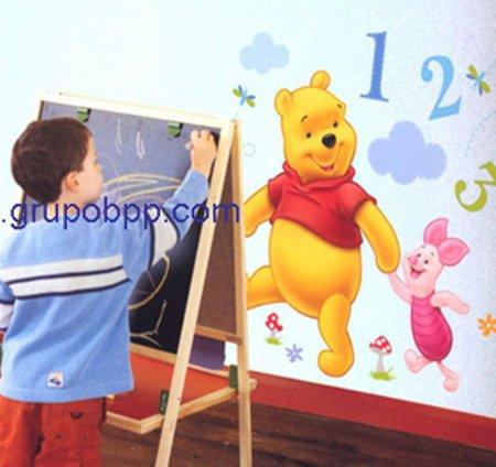 Vinilo infantil winnie de pooh vinilos decorativos - Habitacion winnie the pooh ...