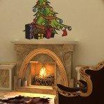 Olvídate del árbol de Navidad; pega un vinilo