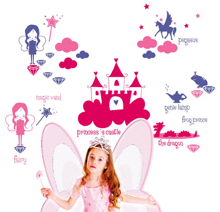 decoración infantil princesas