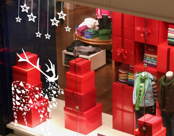 Escaparates navide os blog de decoraci n diy ideas low - Decoracion navidena para negocios ...