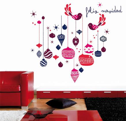 Vinilo decorativo feliz navidad vinilos decorativos - Vinilos decorativos de navidad ...