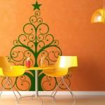 Vinilo Decorativo Arbol de Navidad