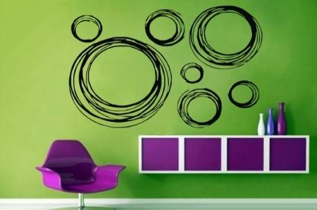 Vinilo Decorativo circular