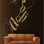 Vinilo Decorativo Letras