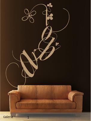 Vinilo decorativo con letras vinilos decorativos for Vinilos decorativos letras