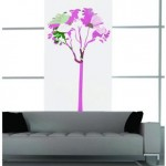 Vinilo a todo color con estilo, ideal para ambientes lisos y rectos
