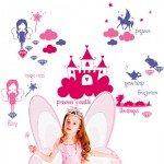 Un vinilo de princesas para la habitación de los peques