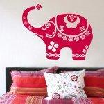 Vinilo Decorativo Elefante de la Suerte