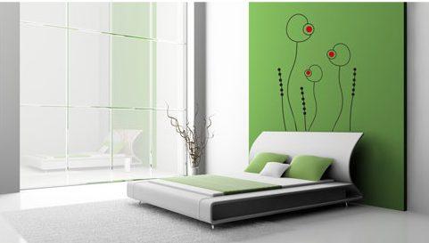 Vinilo decorativo dormitorio vinilos decorativos - Vinilos cabecera cama ...