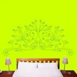 """Vinilo decorativo para lucir un dormitorio """"liviano"""" y natural"""