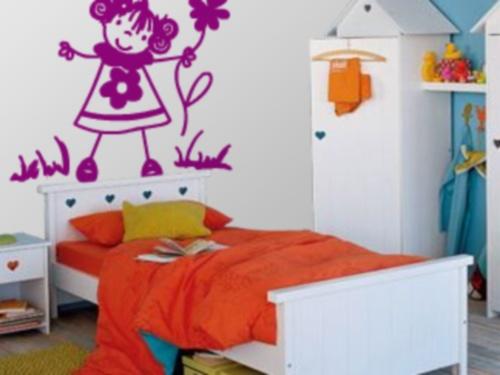 Vinilo decorativo dibujo infantil vinilos decorativos for Vinilos decorativos habitacion nina