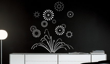 Vinilos decorativos paredes negras vinilos decorativos for Vinilos pared blancos