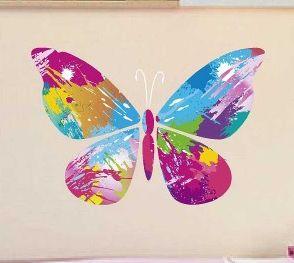 Vinilos decorativos primaverales vinilos decorativos for Vinilos decorativos mariposas