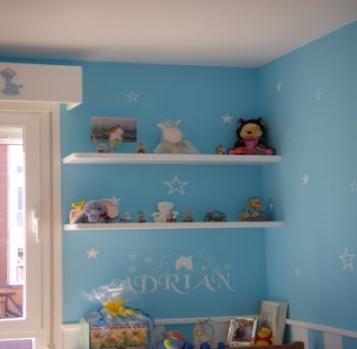 Decoracion de dormitorios de bebes vinilos decorativos for Vinilos para habitaciones de ninos