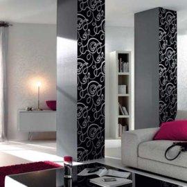 Vinilos decorativos para columnas vinilos decorativos - Decoracion columnas salon ...