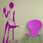 Vinilo Decorativo femenino, un detalle diferente en tu pared