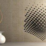 Movimiento y efecto óptico en la sala