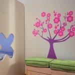 Árbol de cerezo para la habitación de las chicas