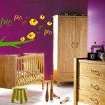 Un vinilo decorativo muy colorido para el cuarto de los peques
