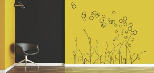 Vinilo decorativo moderno vinilos decorativos for Vinilos de pvc para paredes