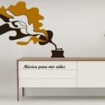 Vinilo Decorativo que le pone imagen a la música