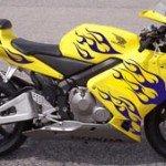 Kits de pegatinas para motocicletas