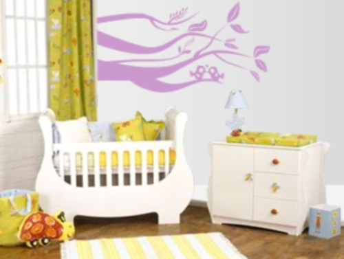 Vinilo decorativo para bebes vinilos decorativos for Vinilo para habitacion de nena