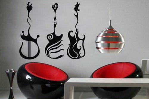 Dibujos para vinilos decorativos imagui - Vinilos decorativos musicales ...