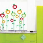 Un vinilo decorativo muy alegre para la cocina