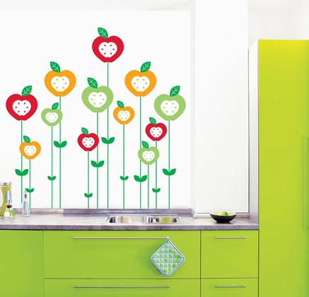 Vinilos decorativos alegres para la cocina vinilos for Vinilos pared cocina