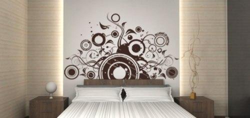 Vinilo adhesivo dormitorio vinilos decorativos for Adhesivos pared dormitorio