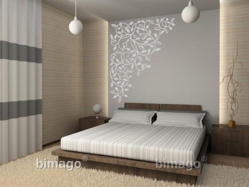 vinilos decorativos clasicos de dormitorios vinilos