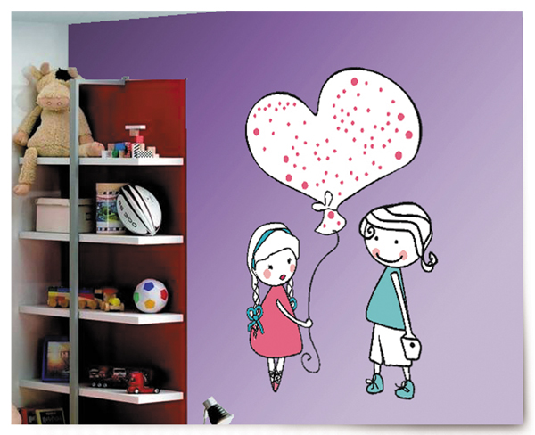 Vinilo decorativo amor infantil vinilos decorativos - Vinilos de amor ...