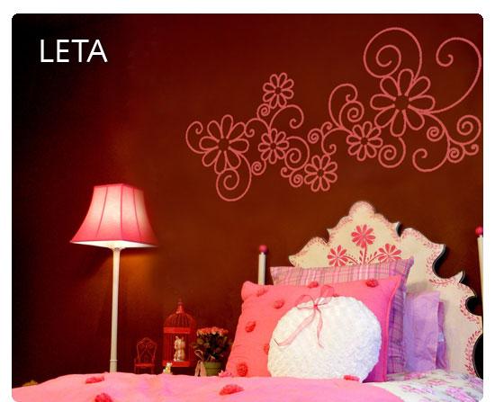 Cenefas decorativas para recamara de jovencitas imagui for Vinilos decorativos dormitorios juveniles