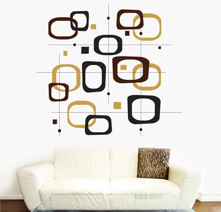 Vinilos decorativos retro vinilos decorativos for Vinilos para pared habitacion