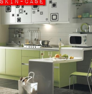 Vinilo decorativo retro de cocina vinilos decorativos - Cocinas con vinilo ...