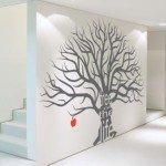 El árbol de la vida en un vinilo decorativo para la pared